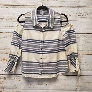 NWT Splendid Cold Shoulder Shirt